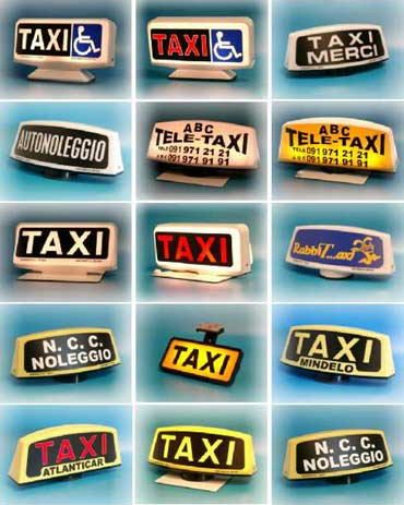Spampinato Customisable Taxi roof sign